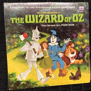 Vintage The Wizard of Oz Record